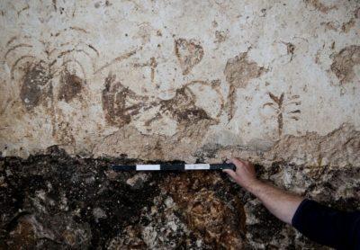 graffiti caratteri ebraici mikveh