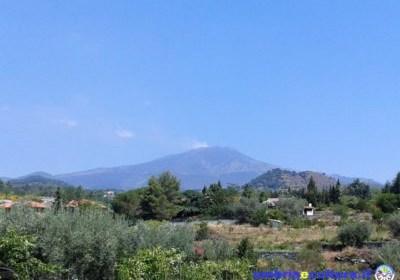 L'Etna e il nuovo cratere di Sud-Est