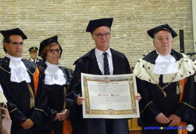 ranieri laurea honoris causa