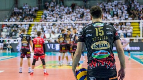 """Volley. La Sir incontra Milano, De Cecco: """"Il gruppo è compatto"""""""