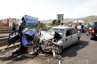 Incidenti stradali, in Umbria +36,2% i morti nel 2015 rispetto al 2014