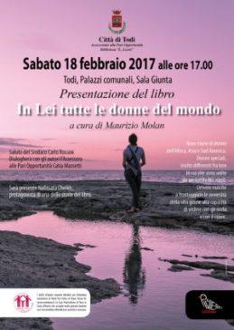 """A Todi il libro """"In Lei tutte le donne del mondo"""" di Maurizio Molan"""