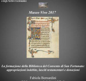 Todi, Museo Vivo: i tesori della Biblioteca del Convento di San Fortunato