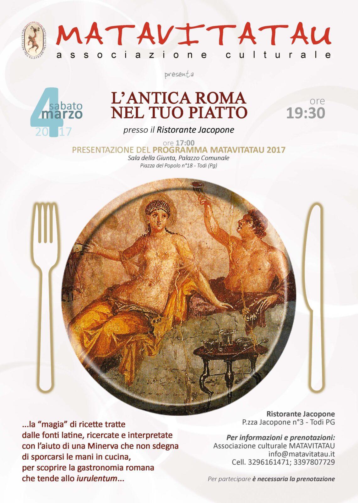 antica roma nel tuo piatto