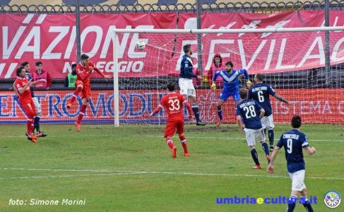 Calcio. Perugia batte Brescia: al Curi emozioni a non finire