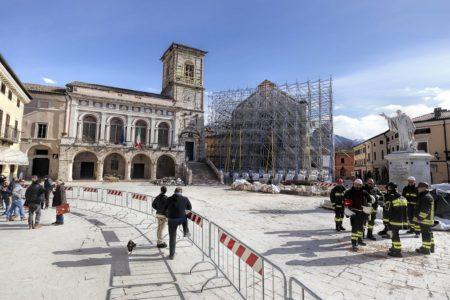 norcia ricostruzione post terremoto duke ellington