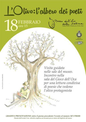 l'albero dei poeti olivo