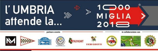 La Mille Miglia in Umbria: una grande occasione di promozione culturale