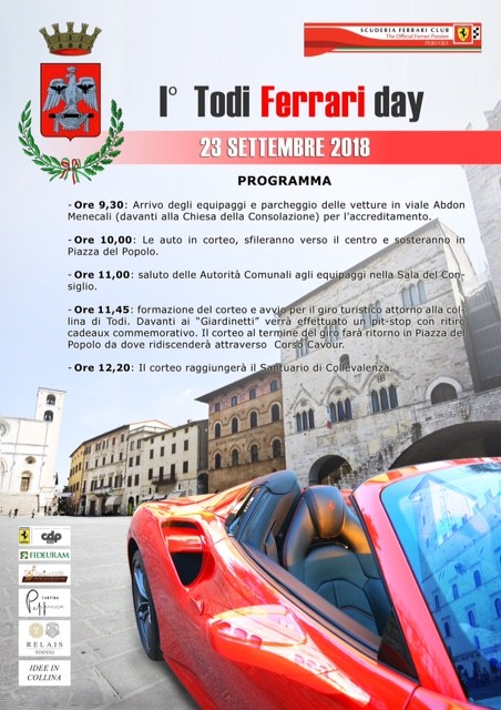 todi ferrari day