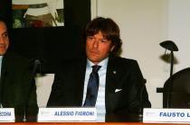 Alessio Fioroni al tavolo
