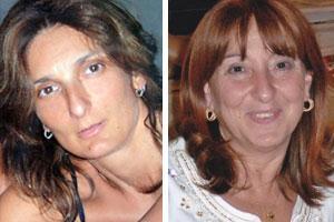 Daniela Crispolti e Margerita Peccati
