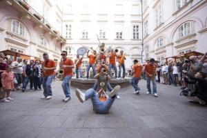 La P-Funking Band in azione