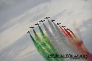 Frecce Tricolori, Castiglione del Lago, foto di Milena Wieczorek Umbriajournal (262)