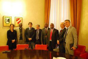 Visita Delegazione Costa D'Avorio