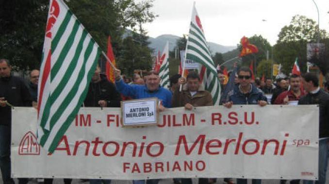 Area crisi Merloni, incentivi per 13 milioni di euro