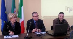 da sx Rita Coccia, Fausto Guzzetti, Gianni Fiorucci