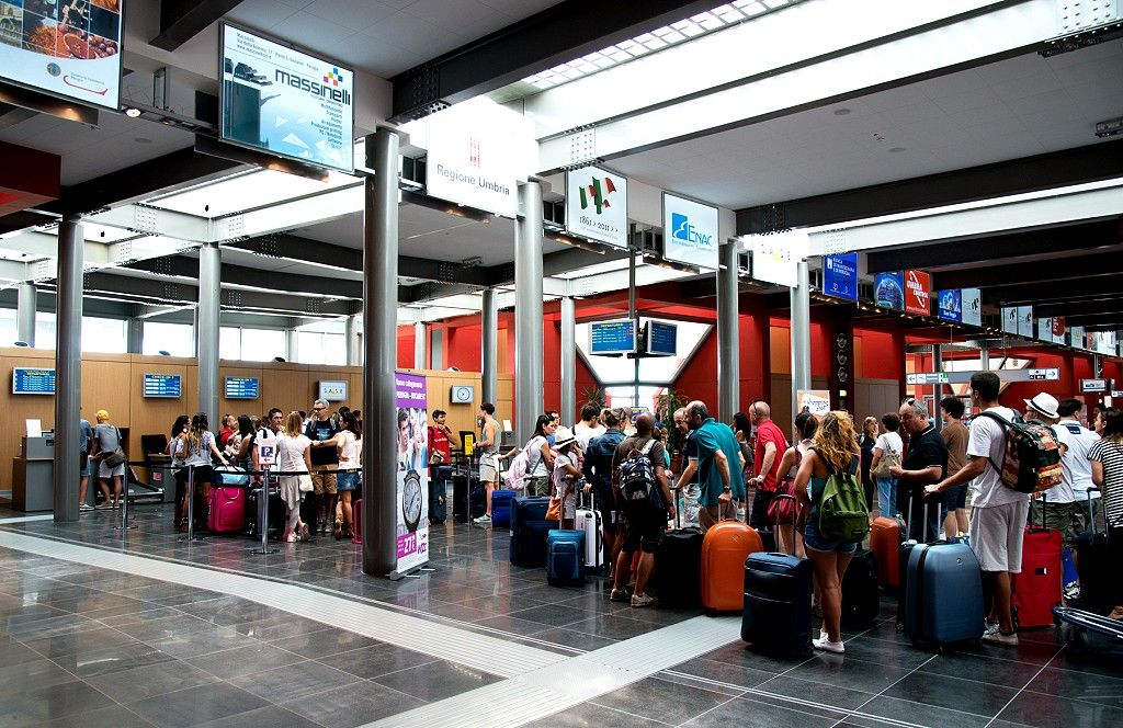 Aeroporto dell'Umbria, Sase: «Numeri buoni per il 2018»