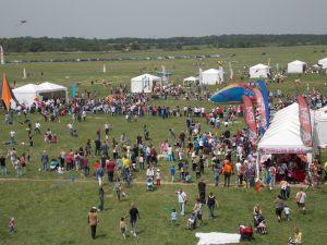 Un'immagine del campo di volo
