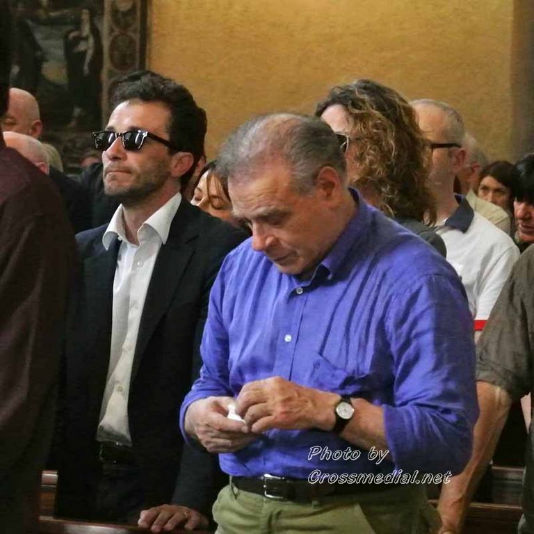 Funerali Sergio Piazzoli - con presenza Patrizia Marcagnani (10)