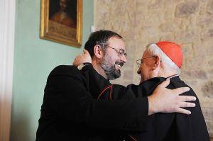 Monsignor Paolo GIULIETTI - Cardinale Gualtiero BASSETTI