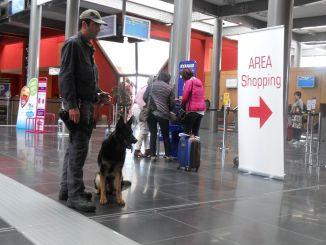 Tenta di entrare Umbria, ma gli agenti lo bloccano all'aeroporto