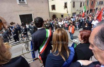 25 aprile 2015 Festa della Liberazione a Perugia Romizi28