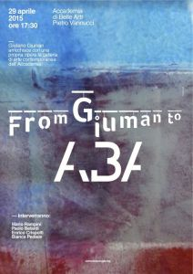 From Giuman to ABA - Locandina Riflessi