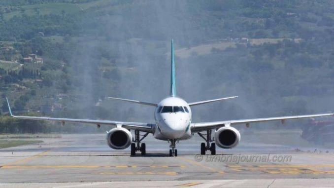 Aeroporto Umbria, servono 3 milioni in più l'anno per raddoppio passeggeri