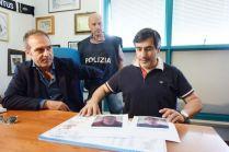 Arrestati rapinatori squadra mobile - gli albanesi arrestati - squadra mobile marco chiacchiera (2)
