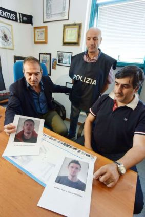 Arrestati rapinatori squadra mobile - gli albanesi arrestati - squadra mobile marco chiacchiera (5)