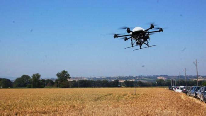 Dimostrazione con drone rtk