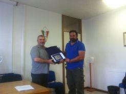 da sx Sergio Speziali e Filippo Calzolari (trofeo Coraggi)