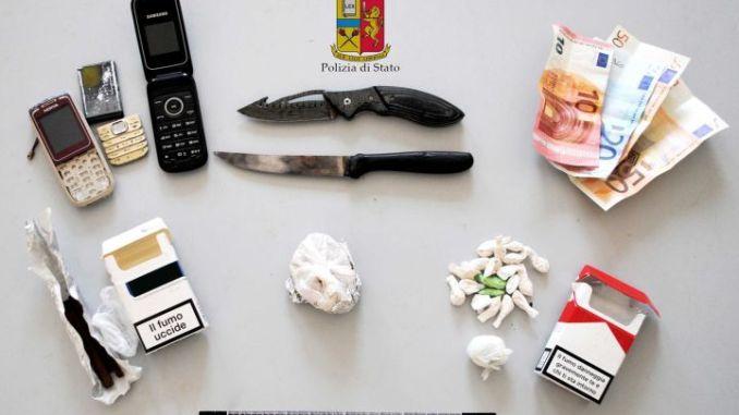 Portavano droga a domicilio, polizia smantella clan tunisino