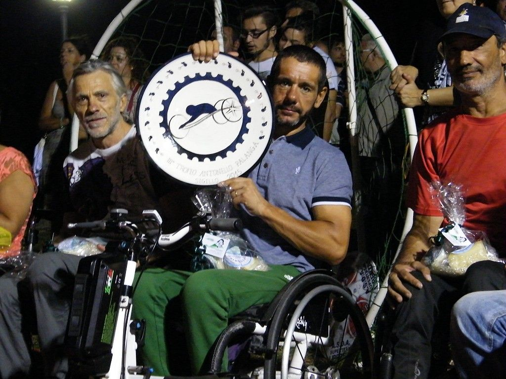 Stefano Girelli, vincitore handbike