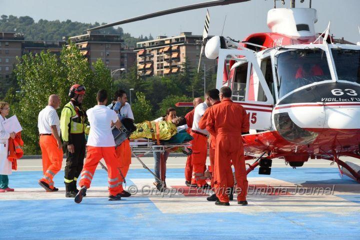 Esplosione Colombella, restano gravi le condizioni dei tre ustionati