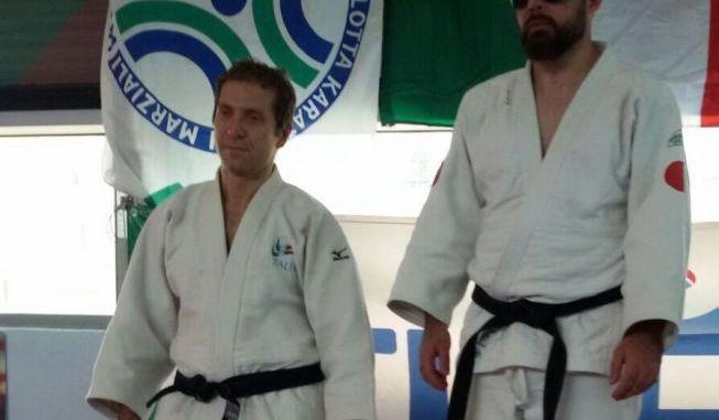 Il judoka eugubino Ubaldo Cecilioni cala il poker