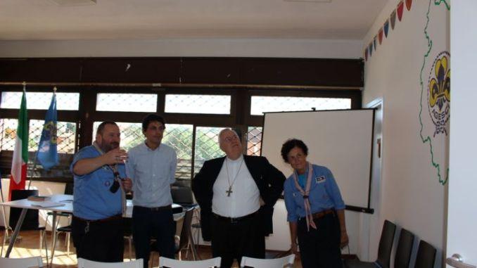 Romizi a inaugurazione nuova sede AGESCI Umbria
