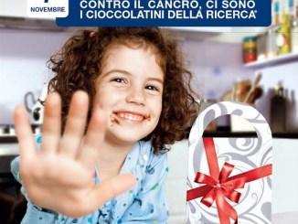 I Cioccolatini della Ricerca dona dieci euro per aiutare l'Airc