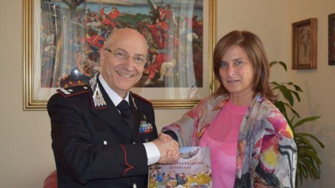 Presidente Porzi ha incontrato nuovo comandante Carabinieri, Francesco Benedetto