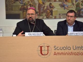 Giubileo straordinario, Monsignor Paolo Giulietti a Villa Umbra