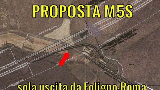 Svincolo di Scopoli, M5S, proposte concrete per alleviare l'impatto ambiental