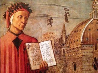 Flashmob per Dante Alighieri nel 750° dalla nascita alla Stranieri