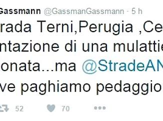 """E45, Gassmann: """"Ha la pavimentazione di una mulattiera abbandonata"""""""