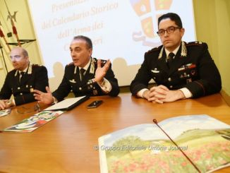 calendario dell'Arma dei Carabinieri