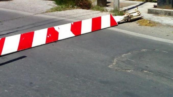 Incidente a passaggio a livello a Colonnetta, segnalato autista camion