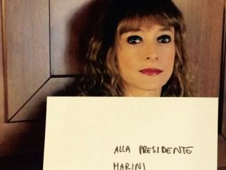 Cara Presidente Marini le scrivo, così mi diverto un po' ...
