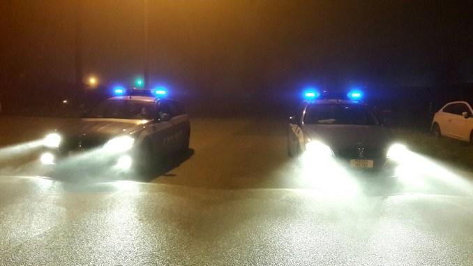 Controlli stradale Terni, polizia ritira patente anche a Babbo Natale