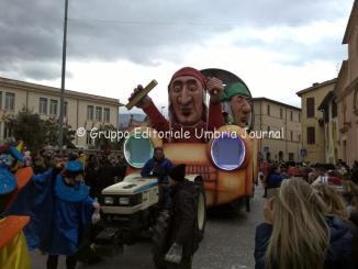 Carnevale dei ragazzi a Sant'Eraclio Foligno, spettacolare creatività