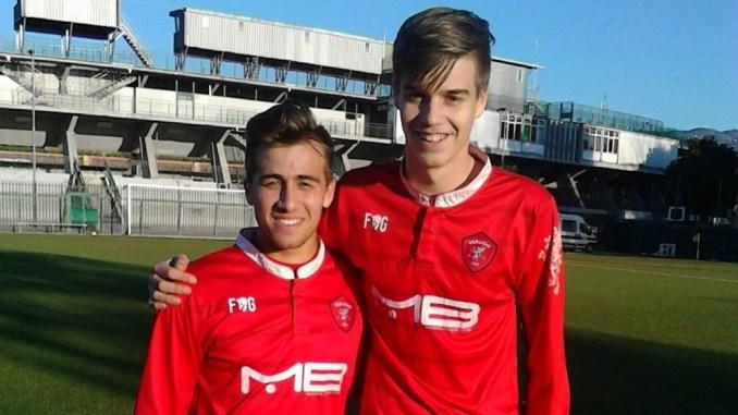 Calcio, Under 17 serie A e B, Ternana Perugia 0-3