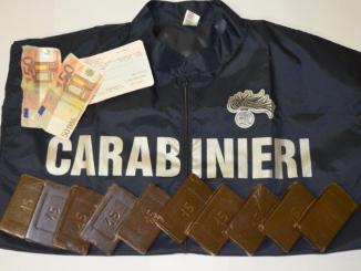San Valentino da sballo, arrestato a Terni egiziano con un kg di hashish